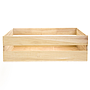 Wood Crate 12'' x 13.5'' x 4'' Front