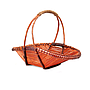 Oval Baskets With Handles Side