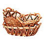 Oval Baskets -Tone With Handles