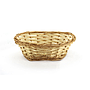 "Lacquered Oval Bread Basket 9"" x 7"" x 2½"""