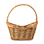 Baskets - Oval Brown