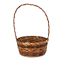 Tone Round Baskets with Handle