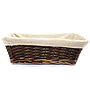 Rectangular Dark Brown Baskets