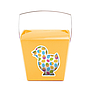 Large Take Out Pail – Easter Chick Pack of 25